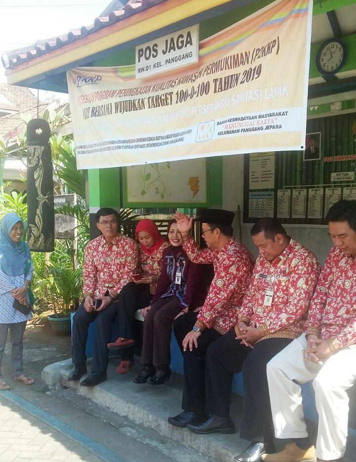 PPNI Jawa Tengah Melakukan Kunjungan di Desa Sehat Mandiri Kelurahan Panggang Jepara