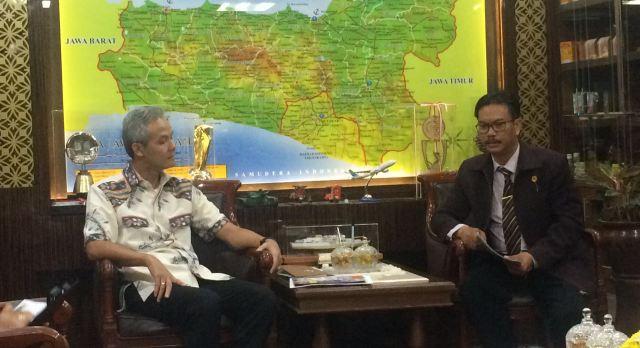 PPNI Jateng audiensi dengan Gubernur Jawa Tengah dalam Persiapan Rapat Kerja Wilayah 2016
