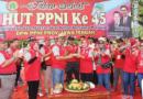 Puncak Peringatan HUT Ke-45 PPNI di Grobogan : Jalan Sehat Berhadiah Mobil